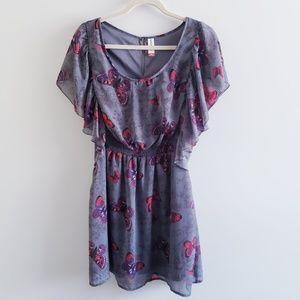 NO BOUNDARIES Butterfly Dress